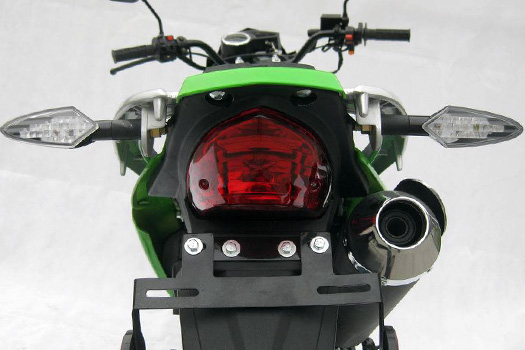Peace Sports brand motorcycle model Brozz 250cc back end