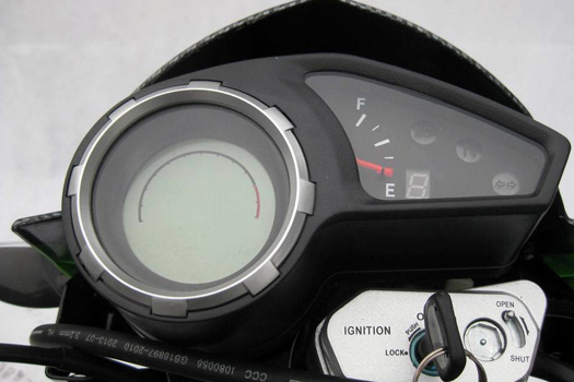 Peace Sports brand motorcycle model Brozz 250cc instrument cluster
