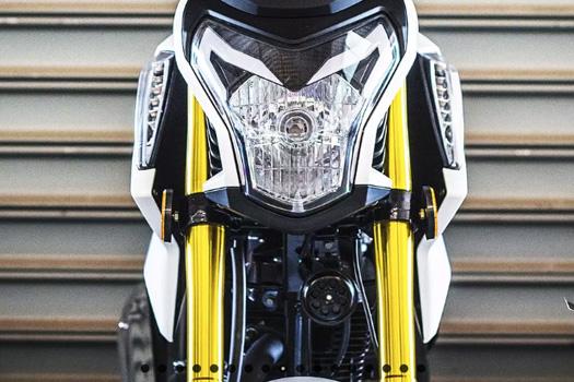 Lifan brand motorcycle model KP mini headlight