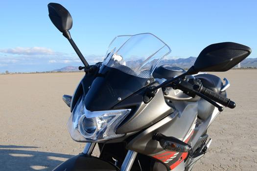 Lifan brand motorcycle model KPR 200 headlight