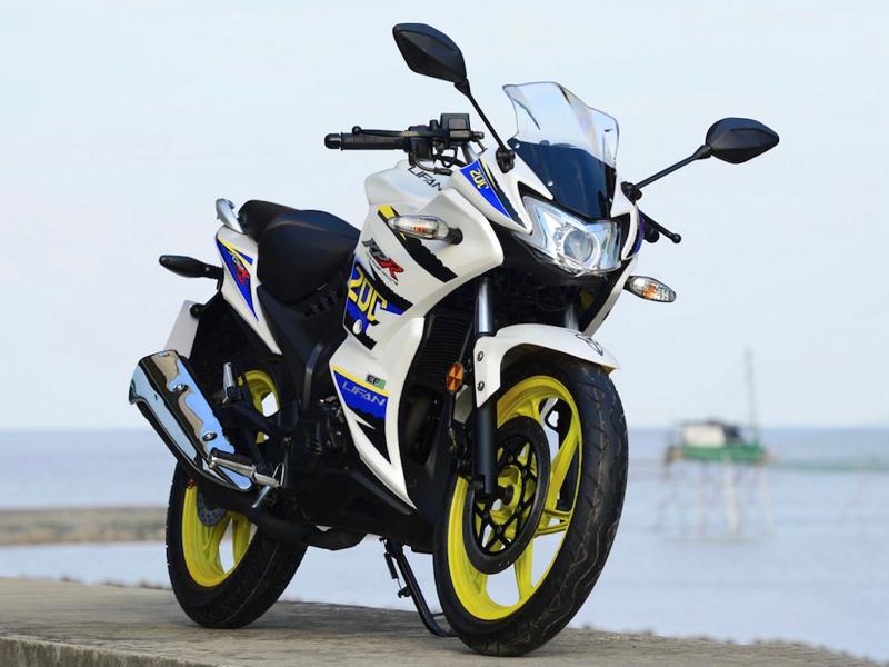 Lifan brand motorcycle model KPR 200