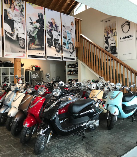 roadshark powersports showroom