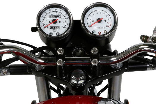 Genuine Scooters Co. G400 Instrument Cluster