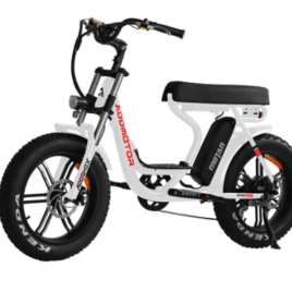 Addmotor brand electric bicycle model Motan M66-R7 white