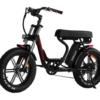 Addmotor brand electric bicycle model Motan M66-R7 black