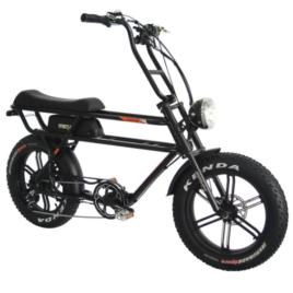 Addmotor brand electric bicycle model Motan M70-R7 black