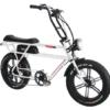 Addmotor brand electric bicycle model Motan M70-R7 white