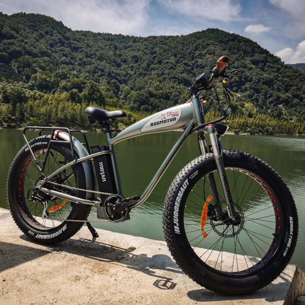 M5500 Addmotor Electric Bicycle Lifestyle