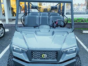 Cushman 4X4 50hp utility cart front