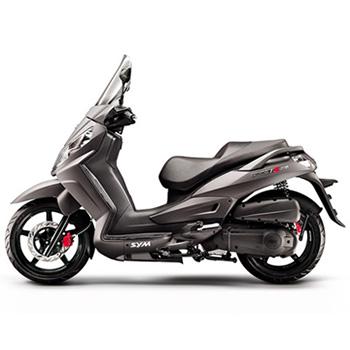 SYM brand scooter model Citycom in grey, left side
