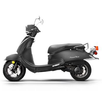 Lance brand scooter model Havana Classic in black, left side