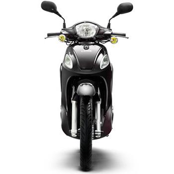 Lance brand scooter model Soho in black, front