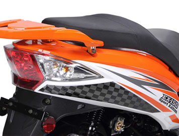 wolf EX150 tail lights detail