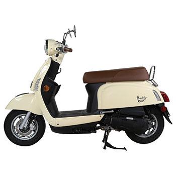 genuine buddy kick french vanilla scooter