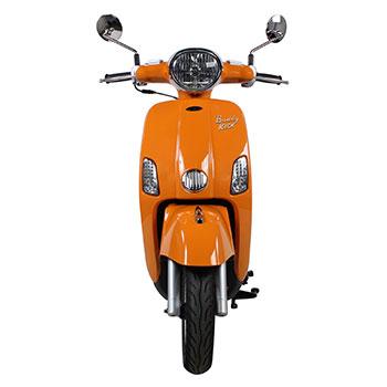 genuine buddy kick tangerine scooter
