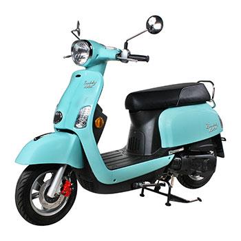 genuine buddy kick turquoise scooter
