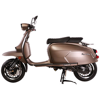 genuine grand tourer brass matte scooter