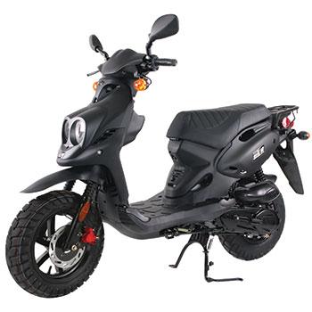 genuine scooter roughhouse black