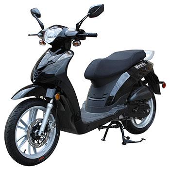 genuine venture scooter black