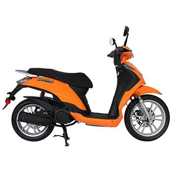 genuine venture scooter orange