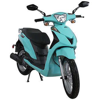 genuine venture scooter turquoise