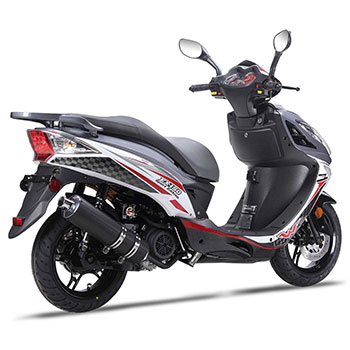 wolf EX150 scooter grey