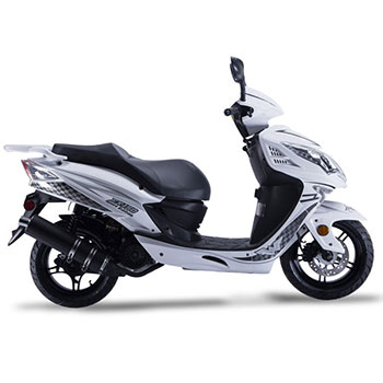 wolf EX150 scooter white