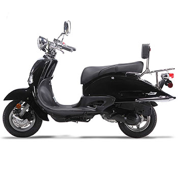 wolf jet scooter black photo