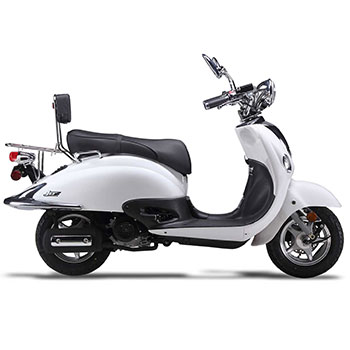 wolf jet scooter white photo