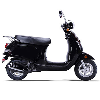 wolf lucky scooter black