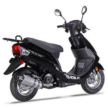 wolf rx50 scooter black