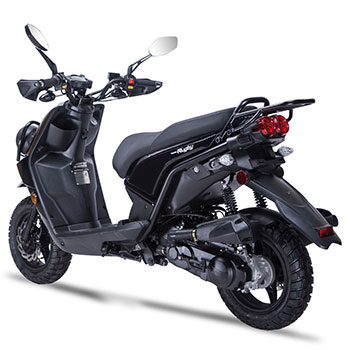 wolf rugby scooter black