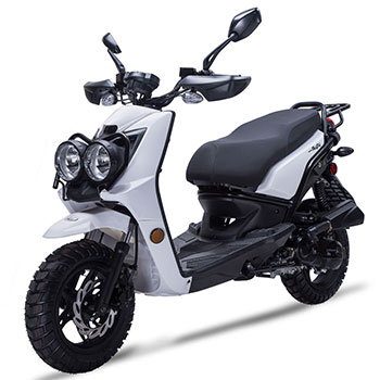 wolf rugby scooter white