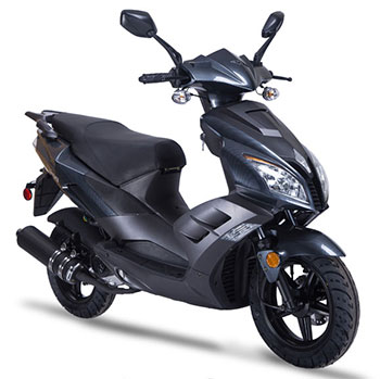 wolf v50 scooter dark grey