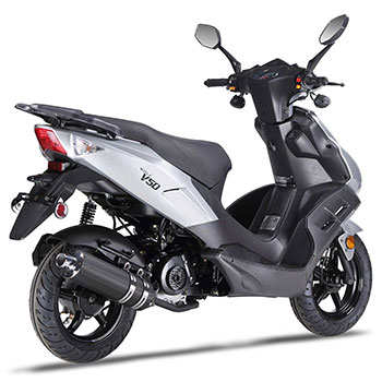 wolf v50 scooter grey