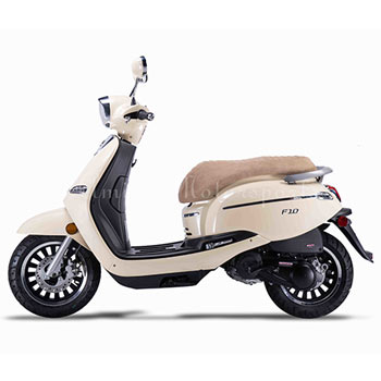 amigo f10 scooter beige