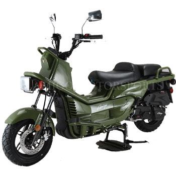 amigo rover scooter green