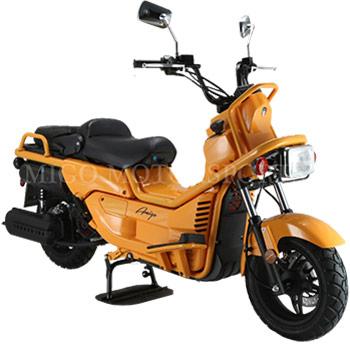 amigo rover scooter yellow