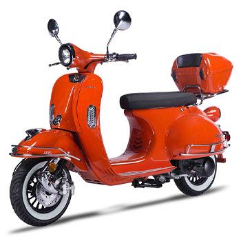 Amigo VES 150 scooter orange