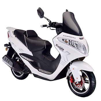 peace sports scooter knight white