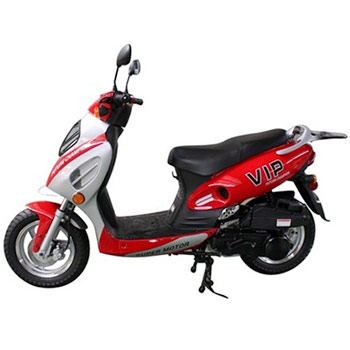 peace sports VIP scooter red