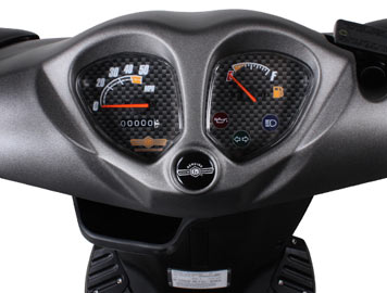 genuine roadhouse sport dashboard detail