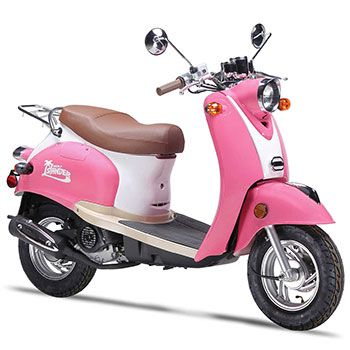 wold islander scooter pink