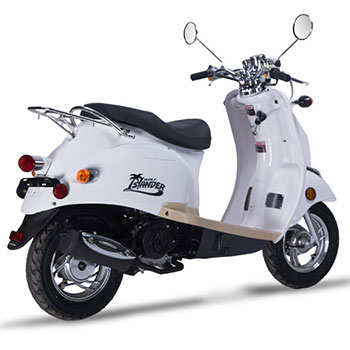wold islander scooter white