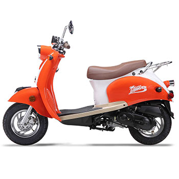 wold islander scooter orange