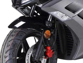 wolf v50 front wheel detail