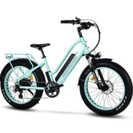 Addmotor M430 electric bicycle green