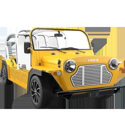 MOKE Electric Car Yellow