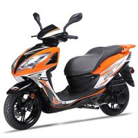 wolf EX150 scooter orange