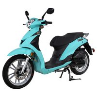 genuine scooter venture 50cc photo turquoise